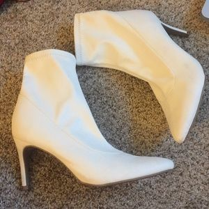 White sock booties